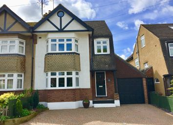 Thumbnail 4 bed semi-detached house for sale in Cross Way, Harpenden