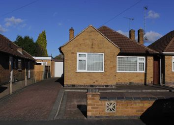 Thumbnail 2 bed detached bungalow to rent in Southdown Drive, Thurmaston, Leicester