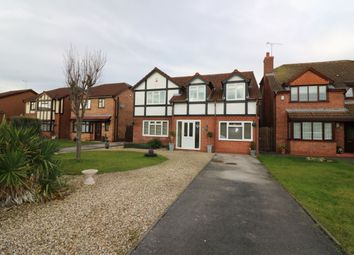 Thumbnail 4 bed detached house for sale in Lichfield Drive, Great Sutton, Ellesmere Port