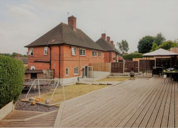Thumbnail 3 bed semi-detached house for sale in Aldworth Close, Nottingham