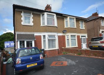 Thumbnail 3 bed semi-detached house for sale in Newport Road, Rumney, Cardiff.