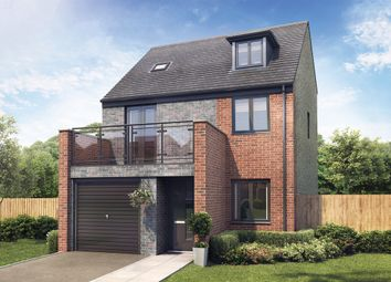 "Thumbnail 4 bed detached house for sale in ""The Lincoln"" at Whinney Hill, Durham"