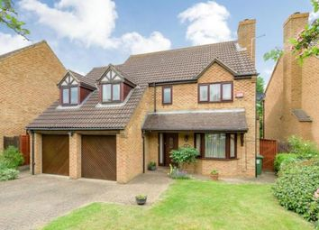 Thumbnail 5 bed detached house for sale in Little Meadow, Loughton, Milton Keynes