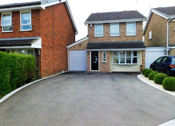 Thumbnail 3 bed detached house for sale in Uplands Close, Penkridge, Stafford