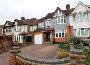 Thumbnail 4 bed semi-detached house for sale in Fairholme Avenue, Gidea Park, Romford