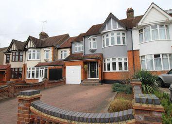 Thumbnail 4 bedroom semi-detached house for sale in Fairholme Avenue, Gidea Park, Romford