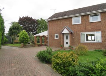 Thumbnail 3 bed semi-detached house for sale in Hillside, Marham, King's Lynn