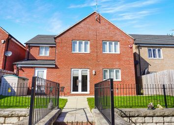 Thumbnail 4 bed detached house for sale in Maddock Close, Leicester