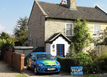 Thumbnail 2 bed cottage to rent in Sharps Row, Heath Road, Woolpit, Bury St. Edmunds