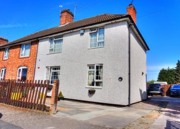 Thumbnail 3 bed semi-detached house for sale in Babington Row, Leicester