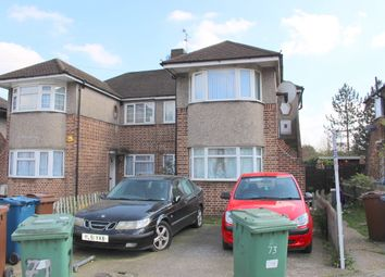 Thumbnail 3 bed maisonette to rent in Glenwood Close, Harrow