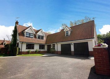 Thumbnail 5 bed detached house for sale in School Hill, Copdock, Ipswich
