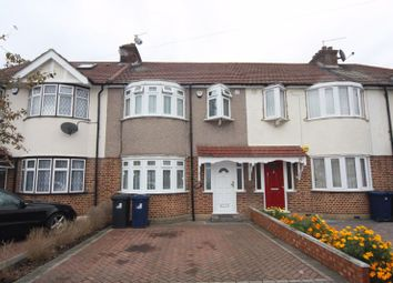 Thumbnail 3 bed terraced house to rent in Crossmead Avenue, Greenford