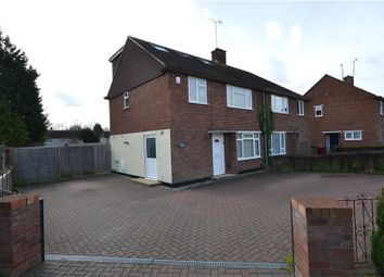 Thumbnail 4 bedroom semi-detached house for sale in Hatford Road, Reading, Berkshire