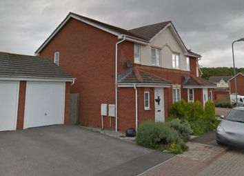 Thumbnail 3 bed semi-detached house to rent in Heol Leubren, Barry