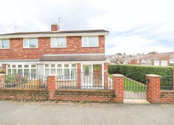 Thumbnail 3 bed semi-detached house for sale in Hanover Walk, Winlaton, Blaydon-On-Tyne