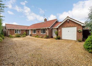 Thumbnail 3 bed detached bungalow for sale in Mill Lane, Syderstone, King's Lynn