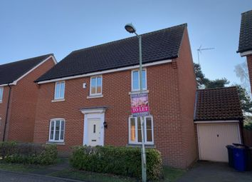 Thumbnail 4 bedroom detached house to rent in Windmill Close, Lakenheath