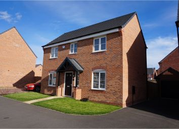 Thumbnail 4 bed detached house for sale in Moseley Avenue, Market Harborough
