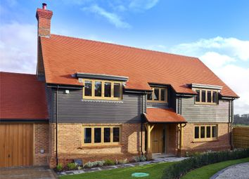 Thumbnail 5 bed detached house for sale in Holly Bush View, Gibbs Brook Lane, Oxted, Surrey