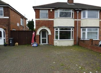 Thumbnail 3 bed semi-detached house for sale in Stonesby Avenue, Aylestone, Leicester, Leicestershire