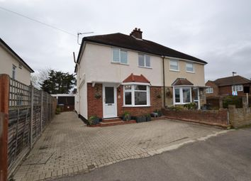 Thumbnail 3 bed semi-detached house for sale in Franklyn Road, Walton-On-Thames