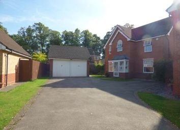 Thumbnail 4 bed detached house for sale in Hornbeam Close, Leicester, Leicestershire