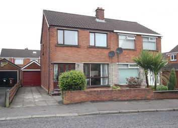 Thumbnail 3 bed semi-detached house for sale in Sandyknowes Crescent, Newtownabbey