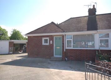 Thumbnail 2 bed semi-detached bungalow to rent in Kinross Crescent, Blackpool