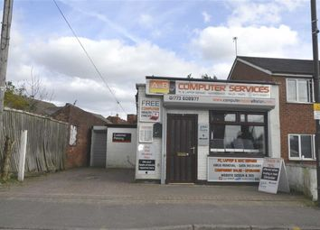 Thumbnail Retail premises for sale in High Street, Somercotes, Derbyshire