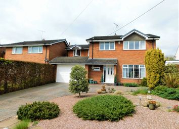 Thumbnail 4 bed detached house for sale in Whitgreave Lane, Great Bridgeford, Stafford.