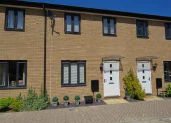 Thumbnail 2 bed terraced house for sale in Wren Close, St. Ives, Huntingdon