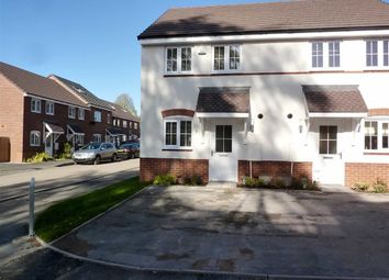 Thumbnail 2 bed mews house to rent in Kielder Drive, Yarnfield, Stone