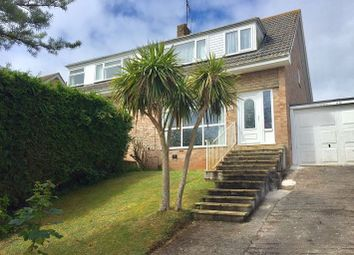 Thumbnail 3 bed semi-detached house to rent in Broadley Drive, Torquay