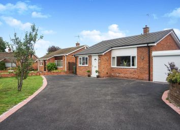 Thumbnail 3 bed detached bungalow for sale in Monmouth Road, Wrexham