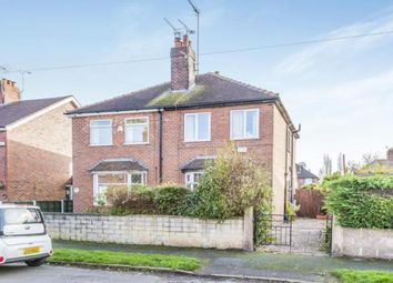 Thumbnail 3 bedroom semi-detached house for sale in Neville Street, Crewe, Cheshire