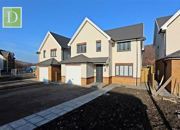 Thumbnail 4 bed detached house for sale in Clos Afon, Aberdare