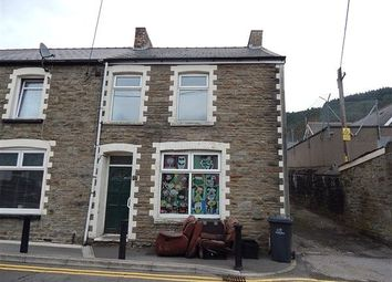 Thumbnail 3 bed end terrace house for sale in Queen Street, Abertillery