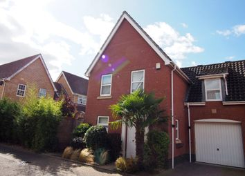 Thumbnail 4 bedroom link-detached house to rent in Burroughs Way, Wymondham