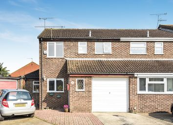 Thumbnail 3 bed semi-detached house for sale in Neptune Close, Wokingham
