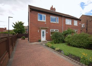 Thumbnail 3 bedroom semi-detached house for sale in Mead Crescent, Forest Hall, Newcastle Upon Tyne