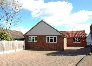 Thumbnail 3 bed detached bungalow for sale in Tudwick Road, Tiptree, Colchester