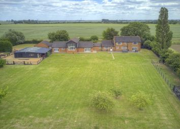 Thumbnail 6 bed detached house for sale in Birds Drove, Sutton St. James, Spalding