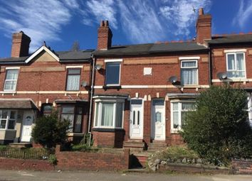 Thumbnail 2 bedroom terraced house for sale in Hednesford Road, Cannock, Staffordshire