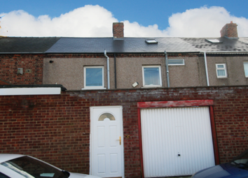 Thumbnail 4 bed terraced house for sale in Railway Terrace, Houghton Le Spring, Tyne And Wear