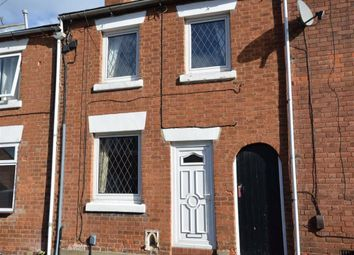 Thumbnail 2 bed terraced house to rent in Cross Street, Stone