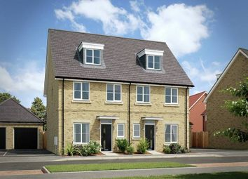 "Thumbnail 4 bed semi-detached house for sale in ""The Kearfield"" at London Road, Calverton, Milton Keynes"