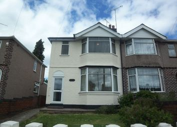 Thumbnail 3 bed semi-detached house to rent in Roland Avenue, Holbrooks, Coventry