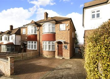 Thumbnail 3 bed semi-detached house for sale in Norwood Park Road, London