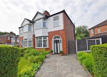 Thumbnail 3 bed semi-detached house for sale in Hove Drive, Fallowfield, Manchester